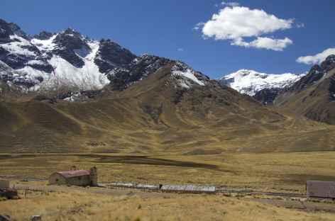 Le col de la Raya entre Cusco et Puno - Pérou -