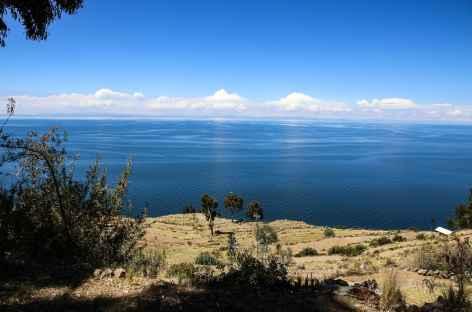 Lac Titicaca depuis Taquilé - Pérou -