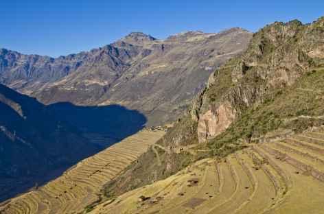 Les terrasses incas de Pisac - Pérou -