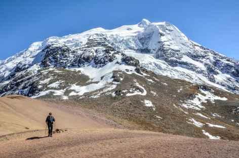 Arrivée au col Alto Palomani - Pérou -