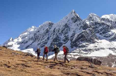 A l'approche du col Jampa - Pérou -