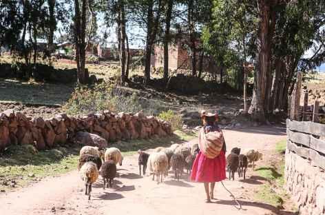 Au départ de la balade - Pérou -