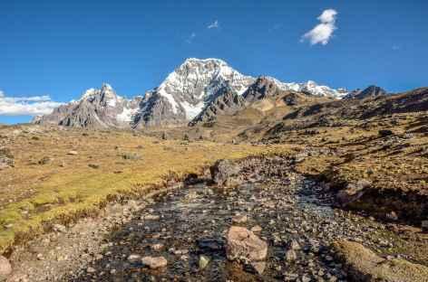 Descente vers Pacchanta - Pérou -