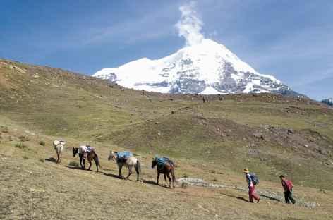 A l'assaut du col Alto Palomani - Pérou -