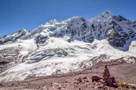Vue depuis le col Jampa - Pérou -
