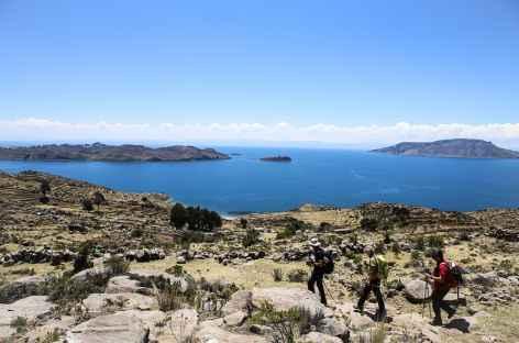 Pendant la balade sur la presqu'ile - Pérou -