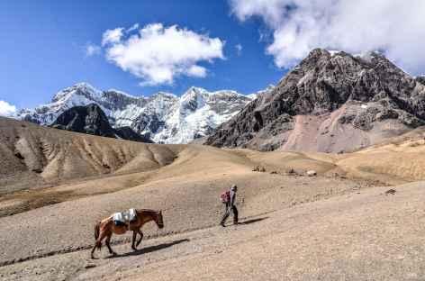 A l'approche du col Arapa - Pérou -