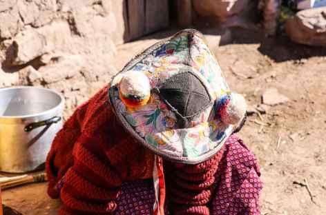Coiffe de Llachon - Pérou -