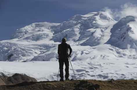 Cordillère Vilcanota, pause face au Nevado Chumpe - Pérou -