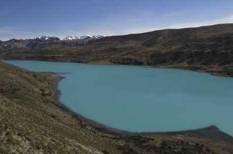 Cordillère Vilcanota, sur les bords de la laguna Singrenacocha - Pérou -