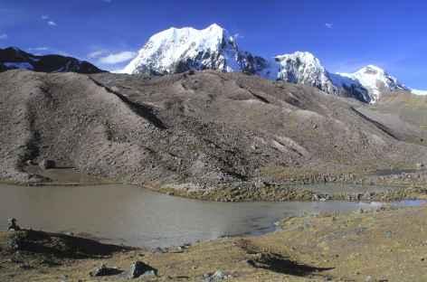 Cordillère Vilcanota, descente du col Jampa - Pérou -