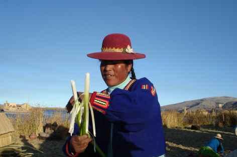 Rencontre sur les îles Uros - Pérou -