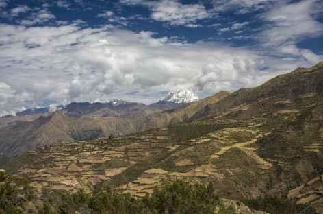 Première vision du Salcantay - Pérou -