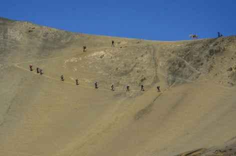Passage du col Condor Tucu - Pérou -