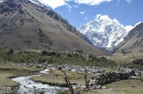 Début du trek dans le Salcantay - Pérou -