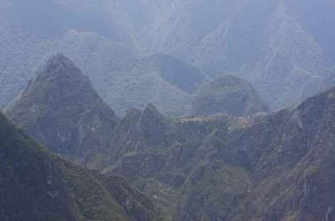 Vue sur le Machu Picchu depuis le col Llactapata - Pérou -