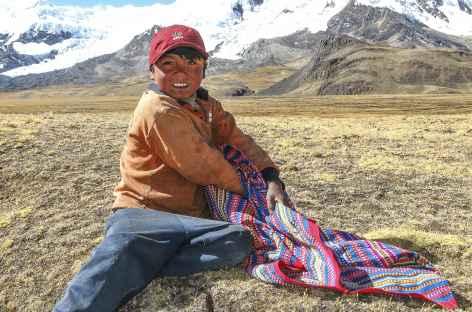 Rencontre avec un jeune berger - Pérou -