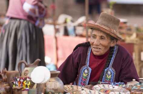 Rencontre sur un marché - Pérou -