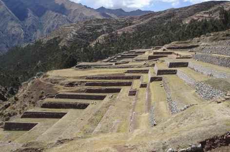 Terrasses incas à Chinchero - Pérou -
