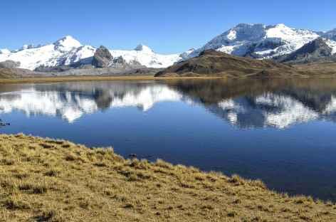 Vue depuis la lagune Ccascana  - Pérou -
