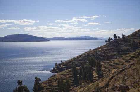 Balade sur l'île d'Amantani - Pérou -