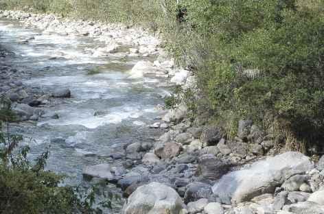 Rivière près de Colpapampa - Pérou -