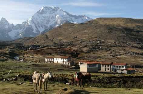 Arrivée à Pacchanta - Pérou -