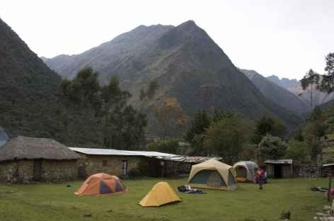 Camp bucolique à Colpapampa - Pérou -
