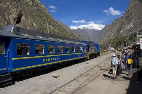 Train à destination du Machu Picchu - Pérou -