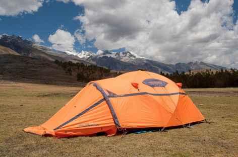 Notre camp à Honkopampa - Pérou -