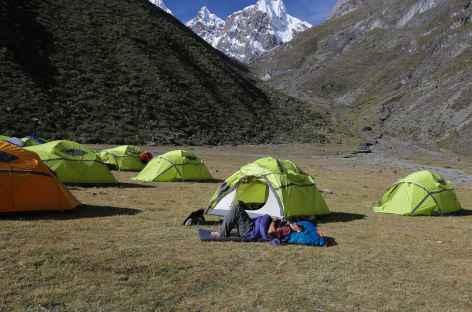 Le camp Cutatambo - Pérou -