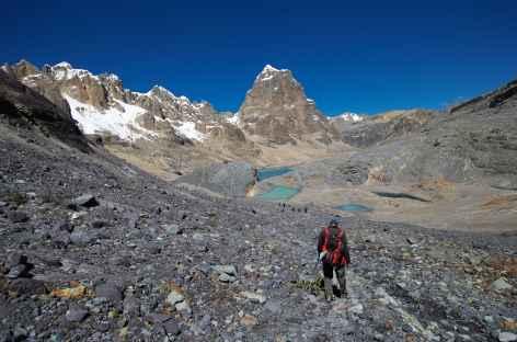 Descente du col Trapecio - Pérou -