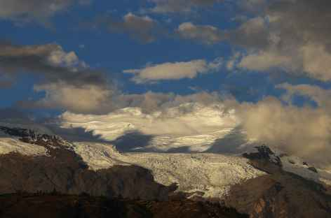Vue sur la Cordillère Blanche depuis la Cordillère Noire - Pérou -