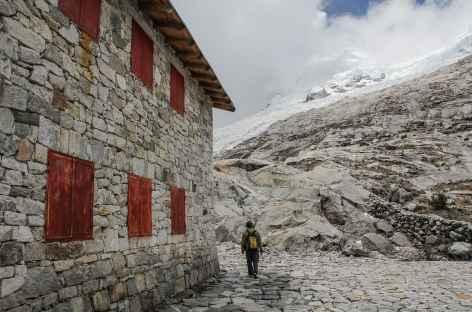 Arrivée au refuge Huascaran - Pérou -