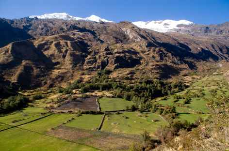 Paysage dans les environs de Yanama - Pérou -