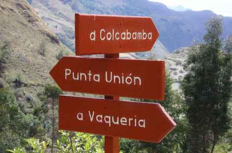 Départ pour la quebrada Huaripampa - Pérou -