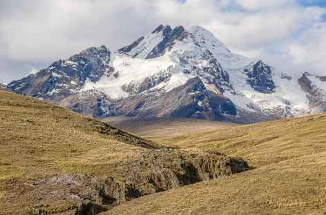 Vue depuis le plateau du col Conococha - Pérou -