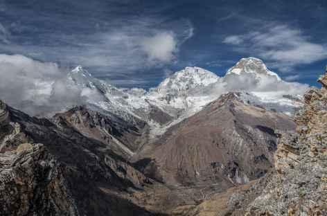 Vue sur le Chopicalqui et le Huascaran - Pérou -