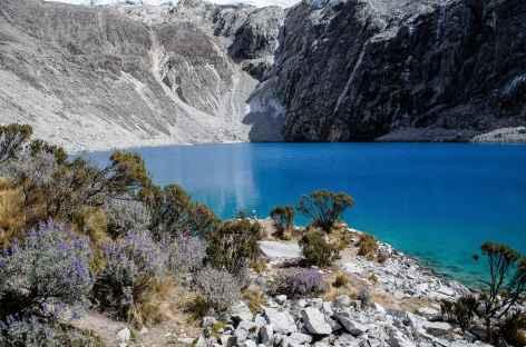 Zoom sur la laguna 69 - Pérou -