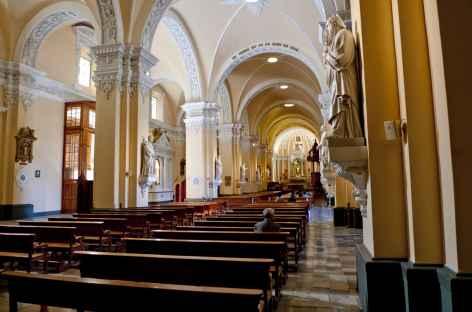La cathédrale d'Aréquipa - Pérou -