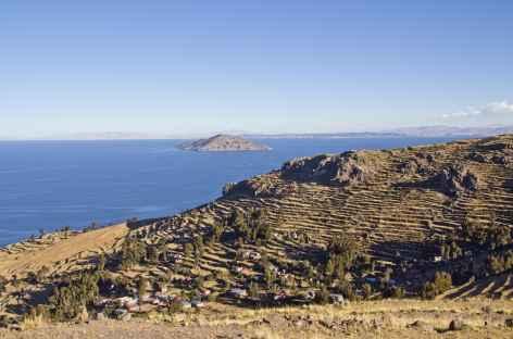 Sur les îles du lac Titicaca - Pérou -