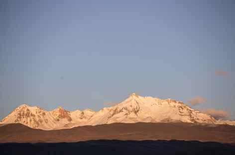 La Cordillère Volcanique au-dessus du Canyon de Colca - Pérou -