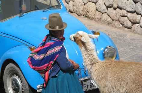 Ambiance dans les rues de Cusco - Pérou -