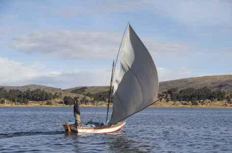 Vie traditionnelle sur la presqu'île de Capachica - Pérou -