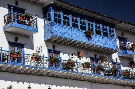 Façade aux couleurs de Cusco - Pérou -
