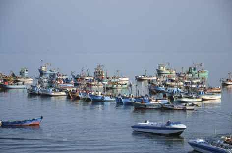 Le port de Paracas - Pérou -