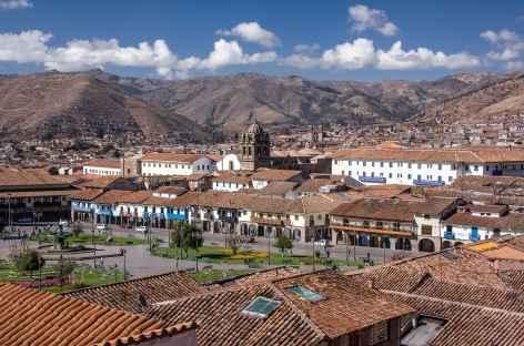 Cusco depuis les hauteurs - Pérou -