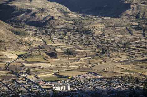 Vue sur Chivay - Pérou -