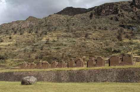 Arrivée sur le site d'Uchuy Qosqo - Pérou -