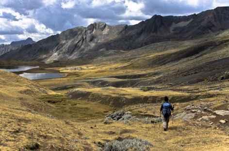 Au col Tapush (4780 m) - Pérou -